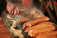 220px-Sausages_on_a_Barbecue